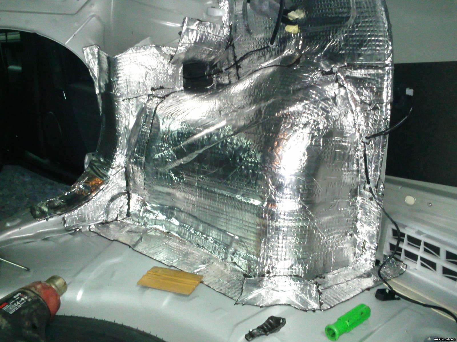 Теплошумоизоляция для автомобиля