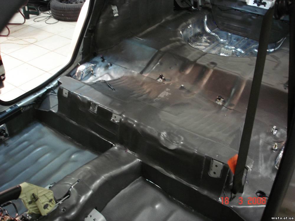 Шумоизоляция для автомобиля своими руками форд фокус 84